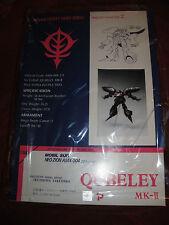 Gundam ZZ Quebeley Mk II Resin Model B-Club 1/144 Kit New