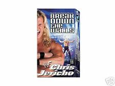 WWE Chris Jericho Break Down Walls VHS Video SEALED