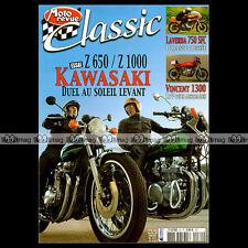 MOTO REVUE CLASSIC N°30 KAWASAKI Z650 & Z1000 LAVERDA 750 SFC GUZZI VINCENT 1000
