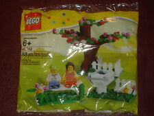 NEW LEGO 40052 SPRING SCENE SEASON 2 MINIFIG SET KIT SEALED IN BAG RARE SOLD OUT