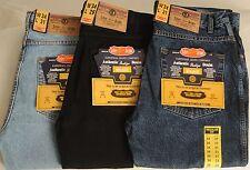 Mens Aztec Heavy Duty Regular Fit Denim Jeans Waist Size 28 48 Leg 27 29 31 33