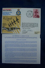 WW2 FIRST DAY COVER No111 SQD 35rd Anni BofB Signed PILOT Air COMM P A LATHAM