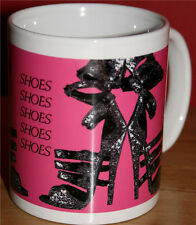 """I LOVE SHOES"" MUG EXCLUSIVE TO US DESIGN!!!"