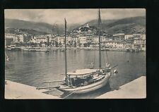 Italy SAN REMO Sailing Boat Riviera dei Fiori Used c1953? PPC