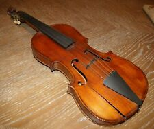 "EARLY VINTAGE HIGH QUALITY VIOLIN LIONS HEAD with BRASS TUNERS 24"" Long"