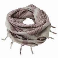BRANDIT SHEMAGH SCARF Tactical Military Neck Arab Scrim Headscarf Coyote/Brown