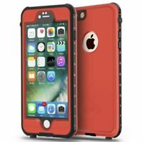 iPhone 6/6S PLUS Waterproof Case Impact Strong Full Body Shockproof (Red)