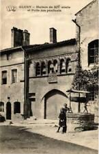 CPA Cluny Maison du XII siécle et Puits des pénitents (649615)