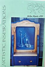 KATHYE BEGALA 1998 BLUE GLASS PAINTING PATTERN PACK SL27