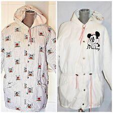 Vintage Disney Mickey Mouse Hooded Parka Medium Women's Reversible Winter Coat