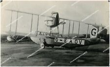 "VICKERS VIKING G-EAOV LARGE ORIGINAL VINTAGE PHOTO 6.5""x10.5"" FROM CIRCA 1918"