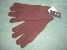 Haakon Lambswool Gloves by Barts MEN'S or unisex size L/XL BROWN large NEW BNWT