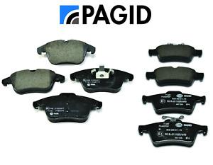 Front Brake Pads & Rear Brake Pads OEM Pagid Jaguar S-Type Vanden Plas XF XJ8 XK