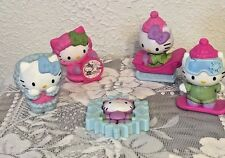 Lot of 5 Hello Kitty McDonald's Happy Meal Toy's See Pictures
