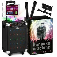 Wireless Karaoke Machine Microphone Speaker Disco Ball Bluetooth Singing System