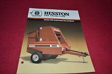 Hesston 560 Round Baler Dealer's Brochure DCPA2