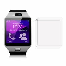 2 New Gearmax Smartwatch DZ09 Screen Protector Cover Guard