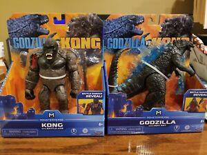 KING KONG VS GODZILLA MOVIE 2 PLAYSET  FIGURES KONG SKULL ISLAND FIGURE WALMART