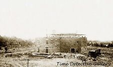 Buffalo Brewery Under Construction, Sacramento, CA -1879-  Historic Photo Print