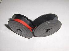 Olivetti Praxis 48 Typewriter Ribbon - Black/ Red Ink - Authentic Olivetti Spool