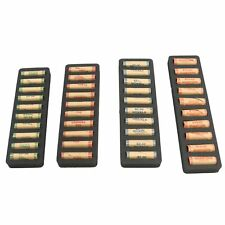 Rolled Coin Storage Organizer Pennies Nickels Dimes Quarter Black 1 Holder Tray
