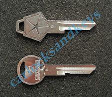 1977 - 1989 Chrysler Lebaron OEM Y149 Y152 Key Blanks blank