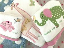 NEW Pottery Barn Kids SAFARI Elephant Towel BATH SET! 3 PC SET! LAST ONE!