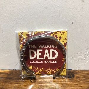 SDCC The Walking Dead Negan Lucille Bat Bangle Braceletby Han Cholo Limited Run