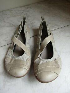 Merrell Wonder Glove Aluminum Mary Jane  Cap Toe Beige Shoes Women's 8 EU 38.5