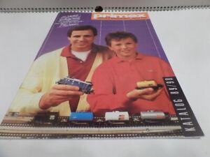 Katalog Märklin Primex 1989 BRD selten Blech Gleichstrom