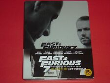 Fast & Furious 7 1/3 Slip Blu Ray Steelbook Very Limited from Korea Cover B