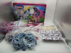 "B-LOC-O Bloco HORSES AND UNICORNS"" Foam Building Pieces ""Build a Friend"" Toy."