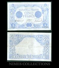 BILLET DE 5 FRANCS BLEU  DATE 25-AVRIL-1916  ETAT: TTB   N° Y.11525