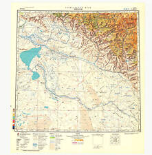 Russian Soviet Military Topographic Maps – KOKTOKAY (China), 1:500K, ed.1985