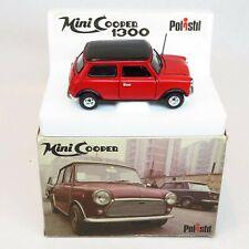 Polistil Italy S582 - Mini Cooper 1300 - 1/25 Boxed Die Cast BMC Austin Morris
