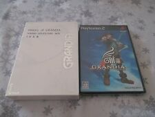 >> GRANDIA III SOUND ADVENTURE BOX PS2 ATLUS JAPAN IMPORT NEW FACTORY SEALED! <<