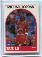 1989-90 HOOPS MICHAEL JORDAN #200 MINT CHIGAGO BULLS HOF LAST DANCE PSA 9/10 ?
