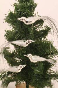 Buntspecht 12cm Schatzhauser Thüringer Weihnachtsschmuck Lauschaer Glaskunst