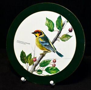 Untersetzer rund 22cm Maison Antique - Vogel Motiv