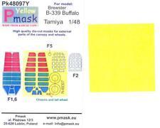 Model Maker 1/48 BREWSTER B-339 BUFFALO Kabuki Tape Paint Mask Set Tamiya Kit