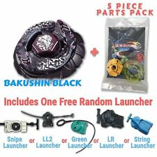 Bakushin Susanow Black BB-122 Beyblade w/ Free Launcher & Tips / Parts / Card