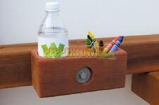 Crayon Caddy Wooden Playground Accessories Cubbyhouse Holder Chalk Pencils Drink