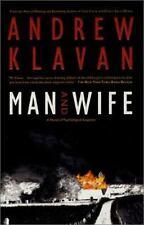 Man and Wife by Andrew Klavan (2001, Hardcover, Revised)