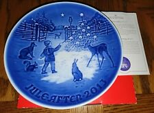 "New Listing2013 B&G Bing & Grondahl Christmas Plate ""Light in the Snow"" Nib Mint"