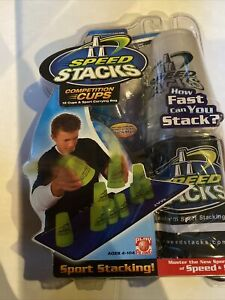 SPEED STACKS Competition Cups | 12 Blue Cups & Black Sport Carrying Bag