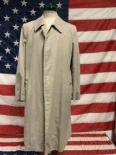 Trench giacca uomo Burberry tg 48 cotone vintage beige Coat Man Size 48