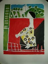 PICASSO. Litografía. Femme Accroupi