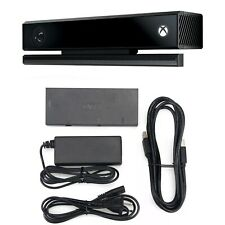 Xbox One Kinect Sensor Motion For Xbox One S & X Camera Adapter Bundle