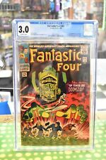 Fantastic Four 48, CGC 3.0 OW Pages, 1st Silver Surfer, 1st Cameo Galactus
