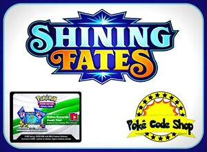 36x SHINING FATES Codes Pokemon Online Booster Code Sword Shield - EMAIL FAST!